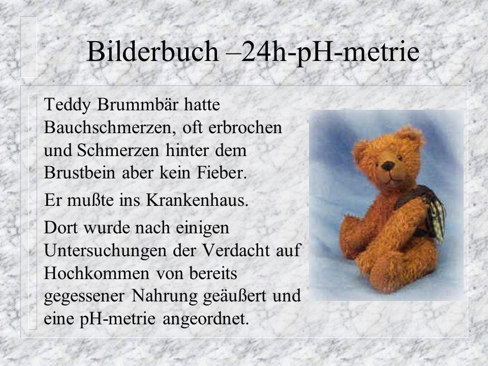 Bilderbuch –24h-pH-metrie