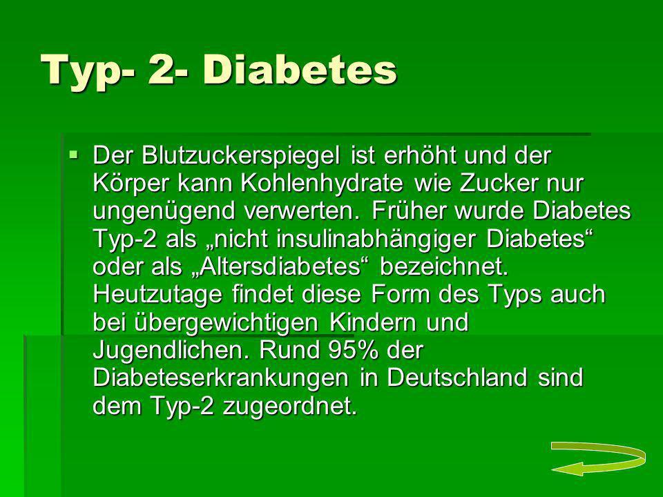 Typ- 2- Diabetes