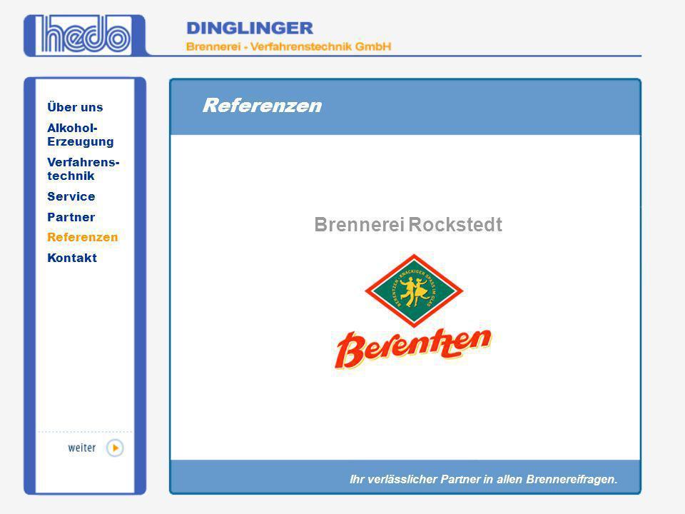 Referenzen Brennerei Rockstedt Über uns Alkohol-Erzeugung