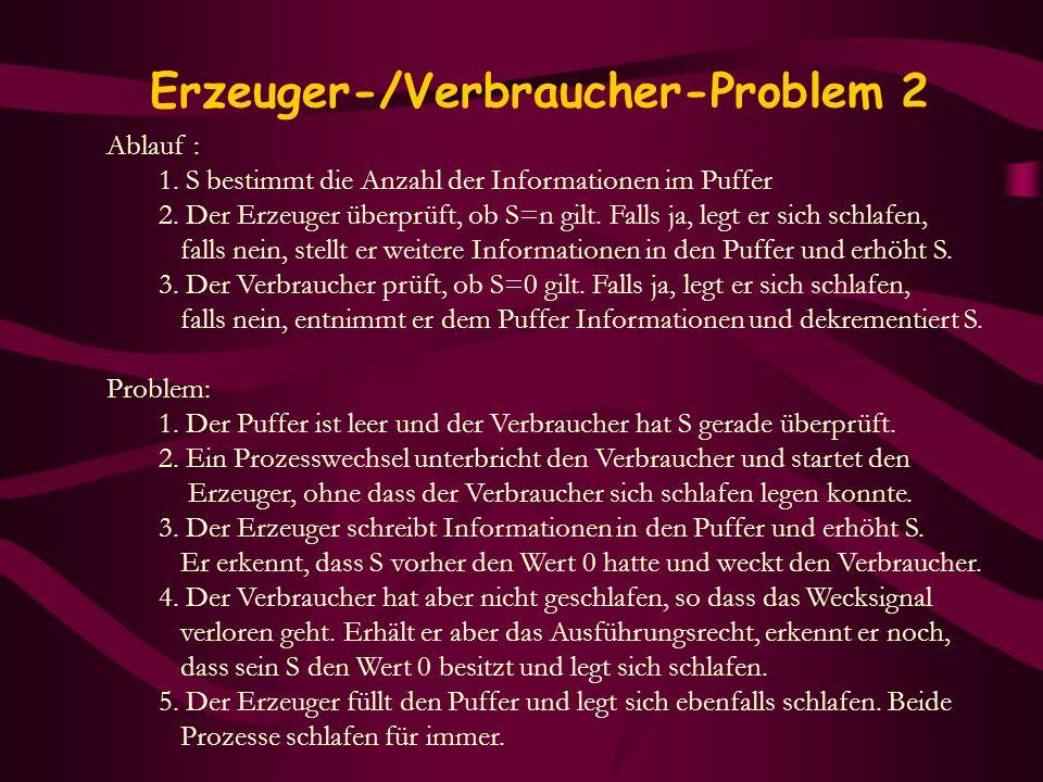 Erzeuger-/Verbraucher-Problem 2