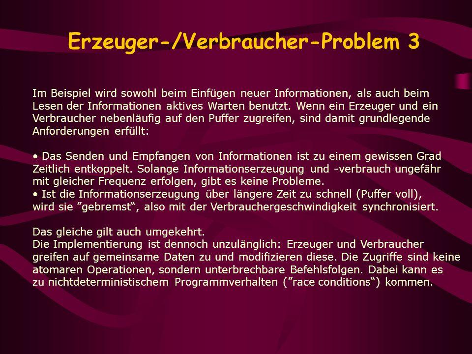 Erzeuger-/Verbraucher-Problem 3