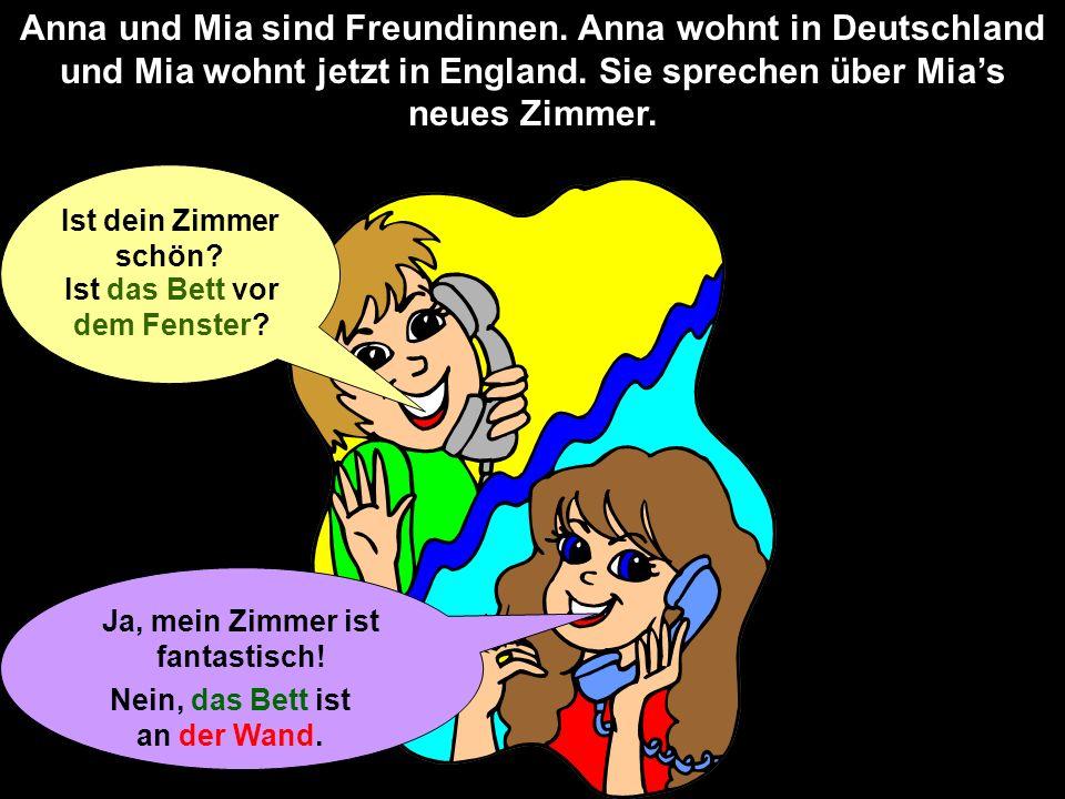 Anna und Mia sind Freundinnen
