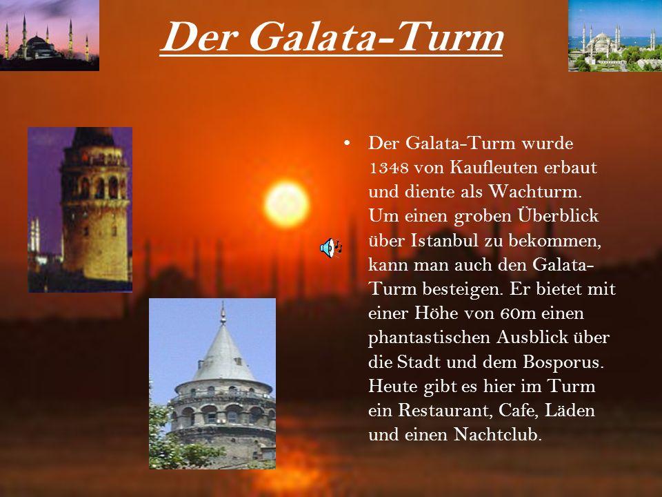 Der Galata-Turm