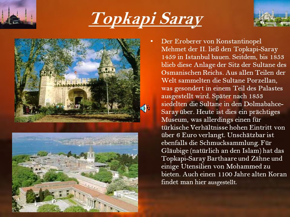 Topkapi Saray