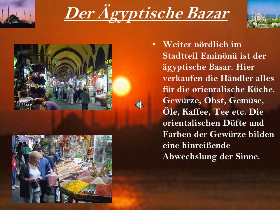 Der Ägyptische Bazar