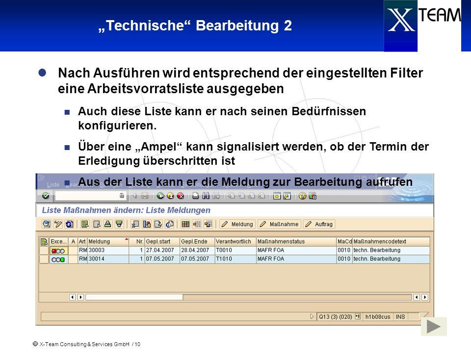 """""""Technische Bearbeitung 2"""