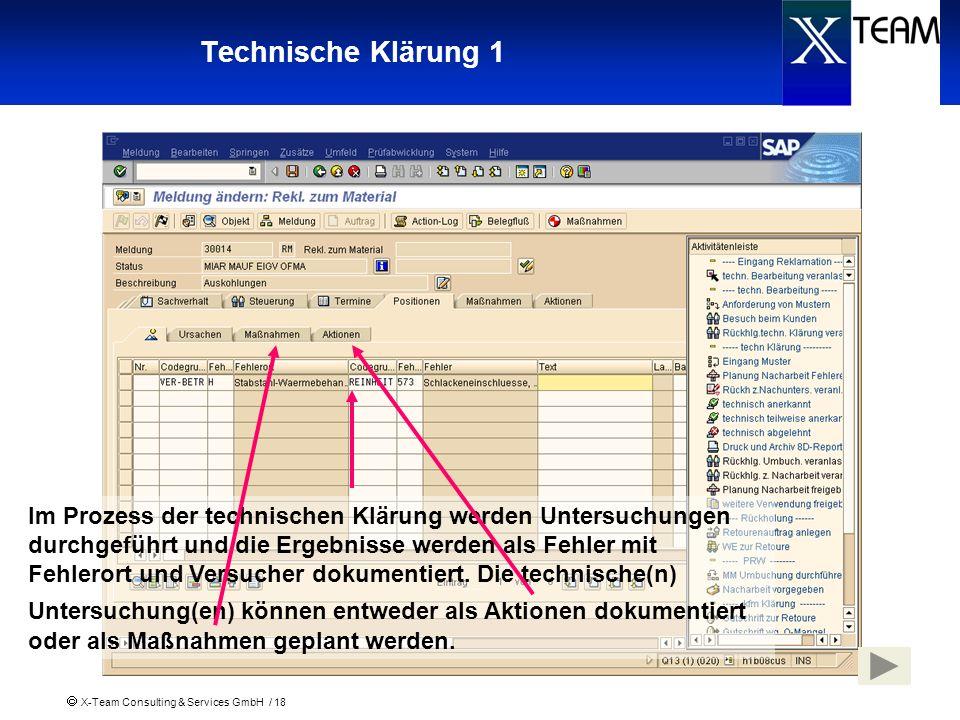 Technische Klärung 1