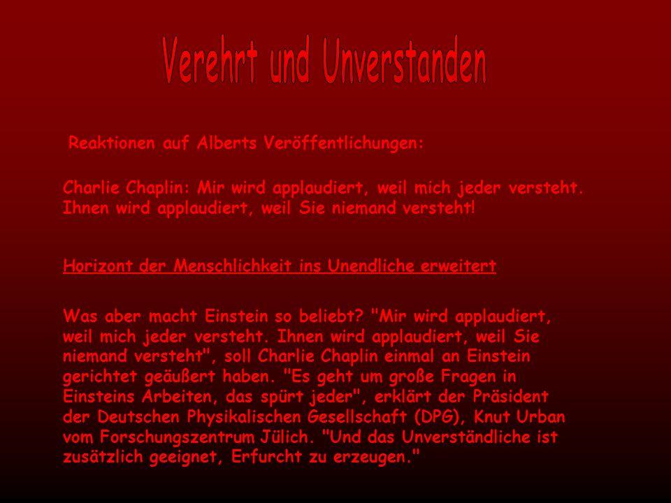 Verehrt und Unverstanden
