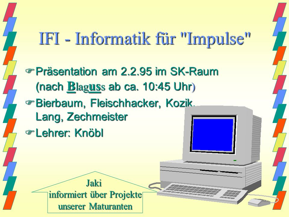 IFI - Informatik für Impulse