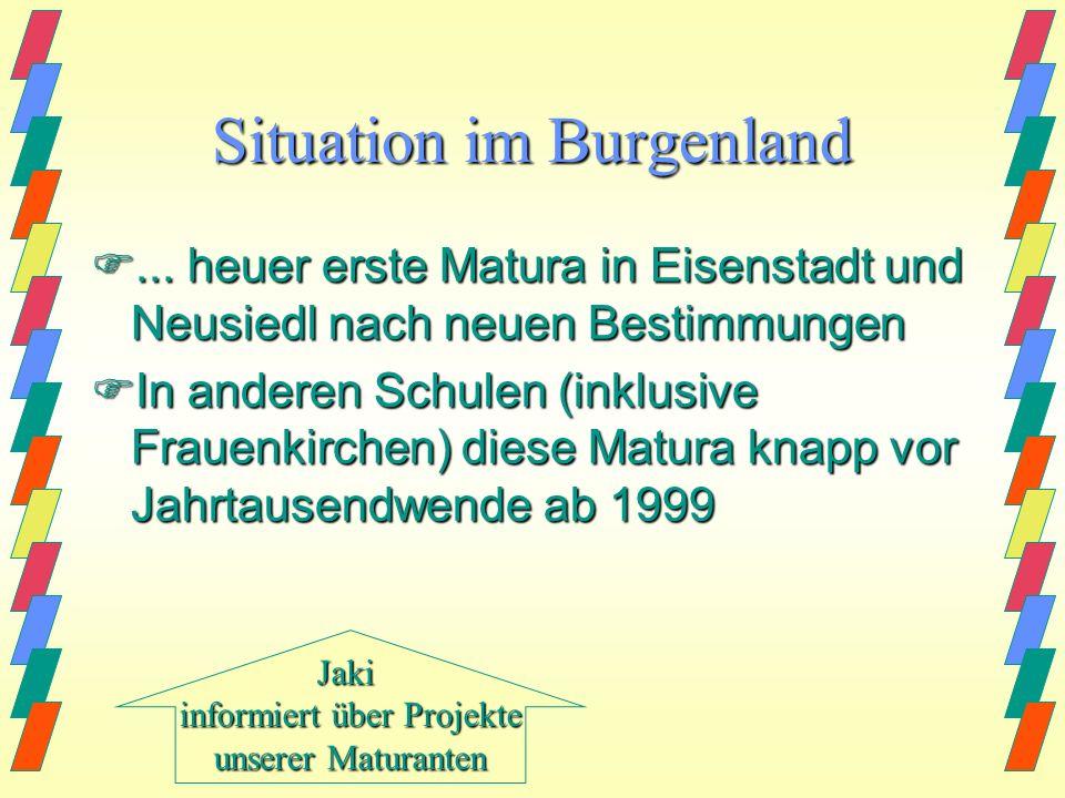 Situation im Burgenland