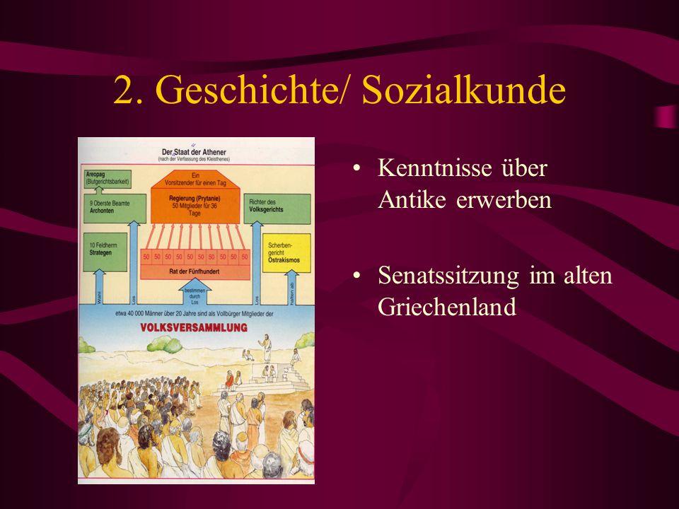 2. Geschichte/ Sozialkunde
