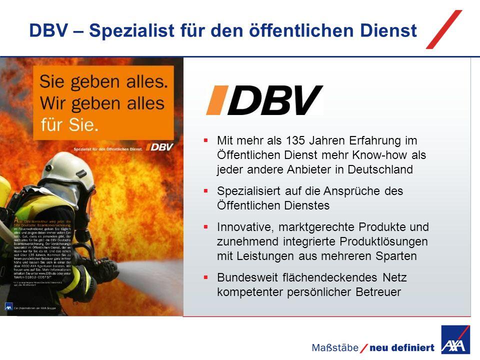 DBV – Spezialist für den öffentlichen Dienst