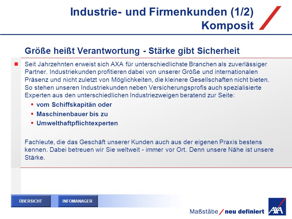 Industrie- und Firmenkunden (1/2) Komposit