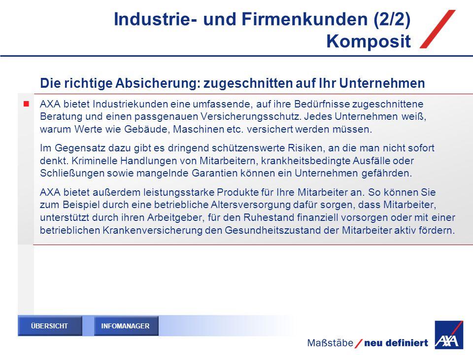 Industrie- und Firmenkunden (2/2) Komposit