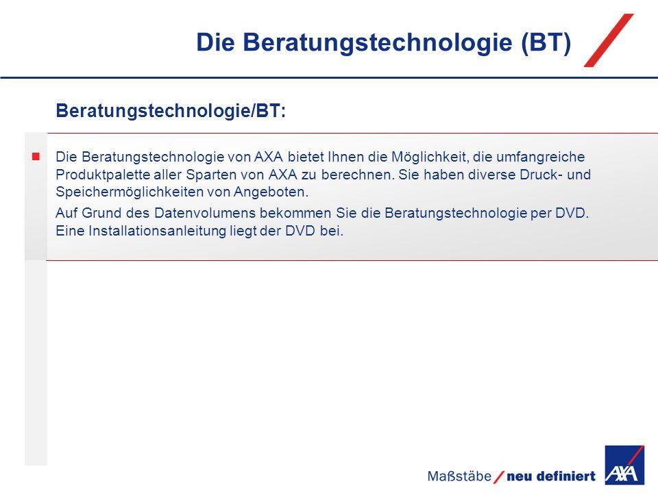 Die Beratungstechnologie (BT)