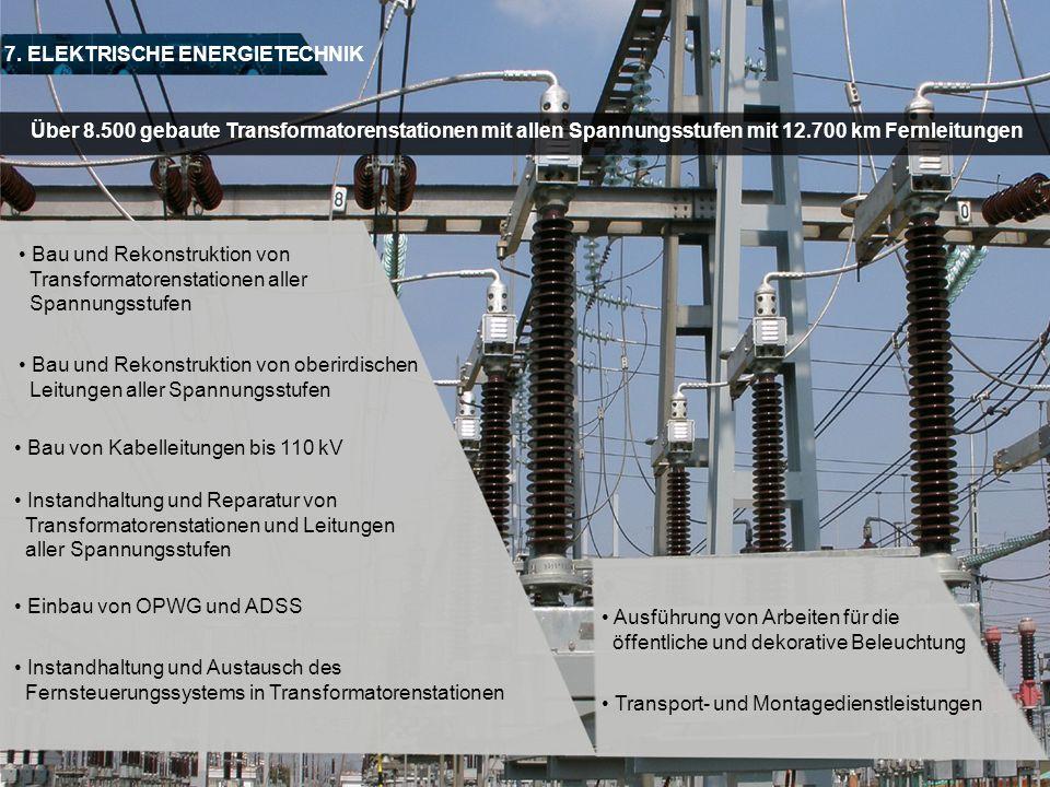 7. ELEKTRISCHE ENERGIETECHNIK