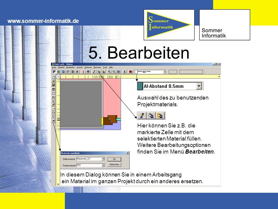 5. Bearbeiten www.sommer-informatik.de