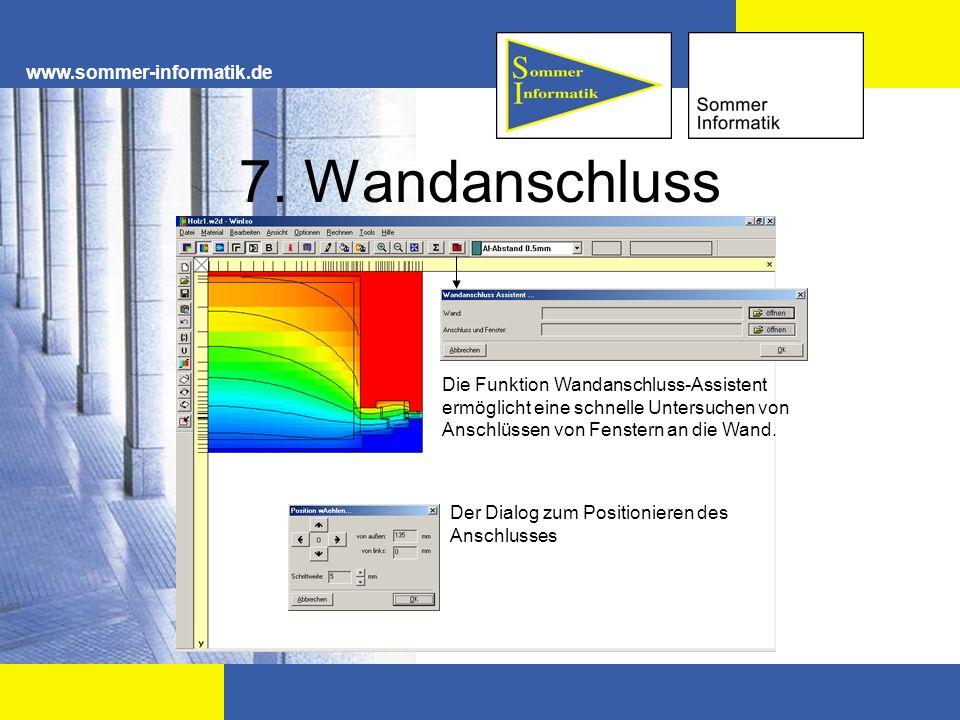 7. Wandanschluss www.sommer-informatik.de