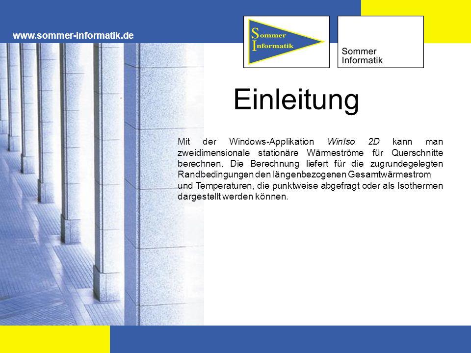 Einleitung www.sommer-informatik.de