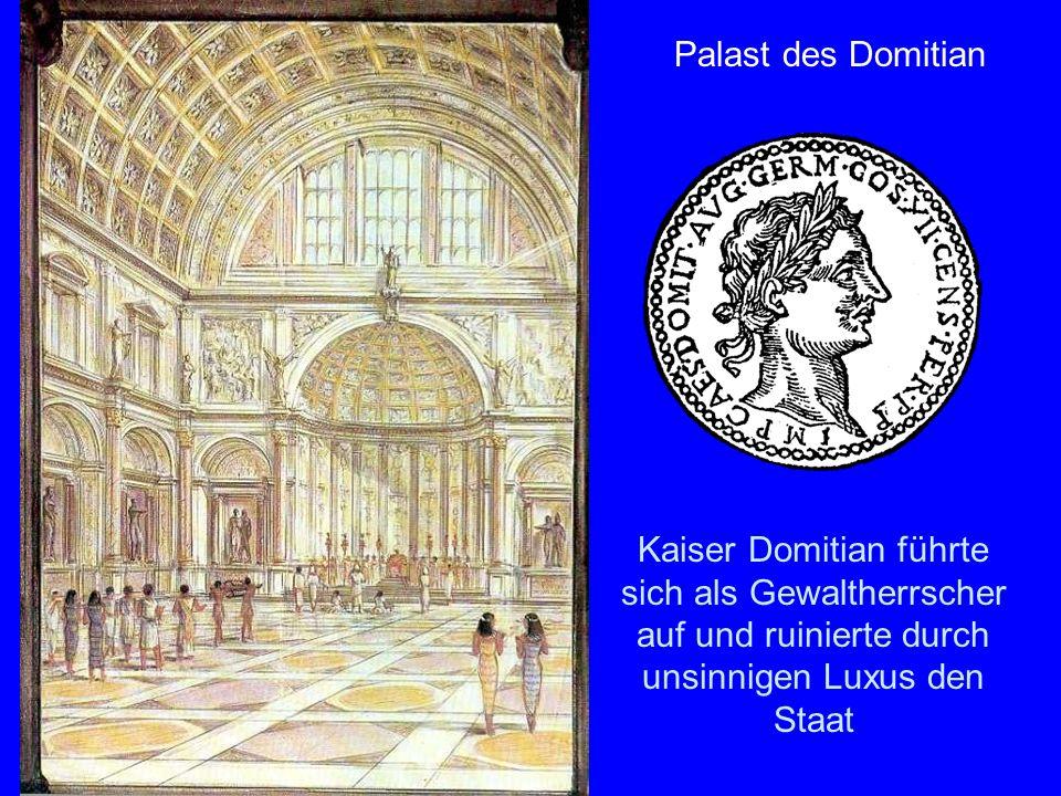 Domitianspalast Palast des Domitian