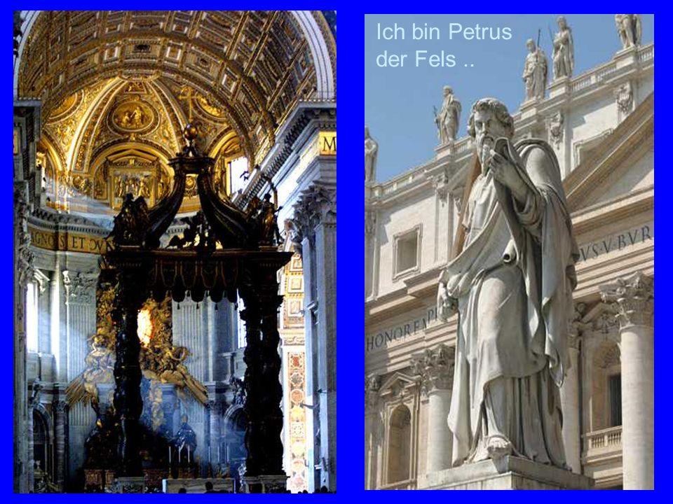 St.Peter Ich bin Petrus der Fels ..