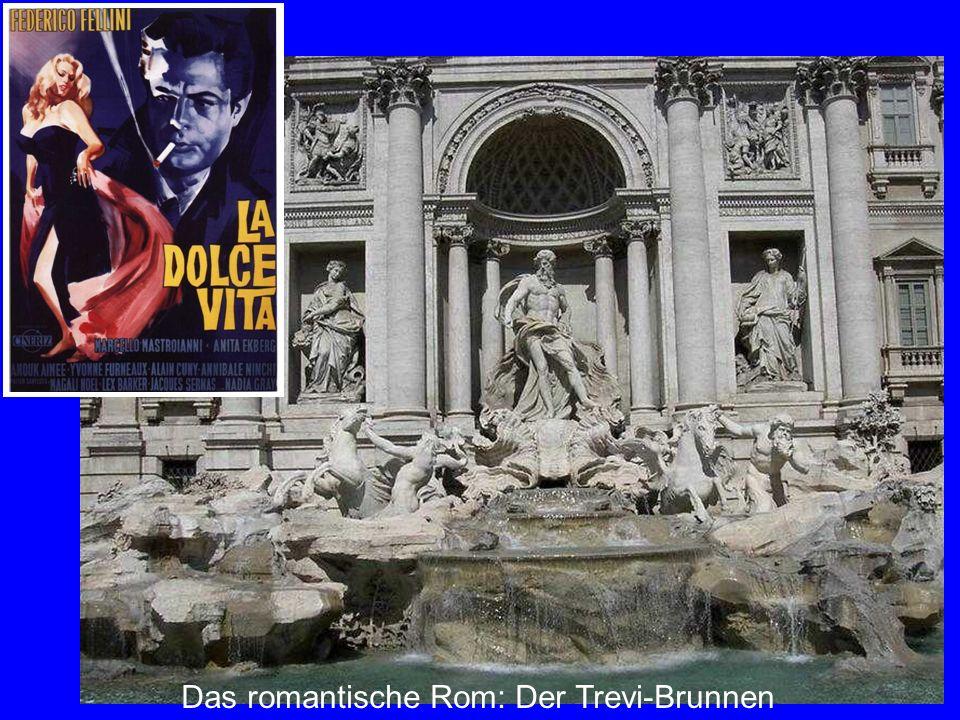 Trevi Das romantische Rom: Der Trevi-Brunnen