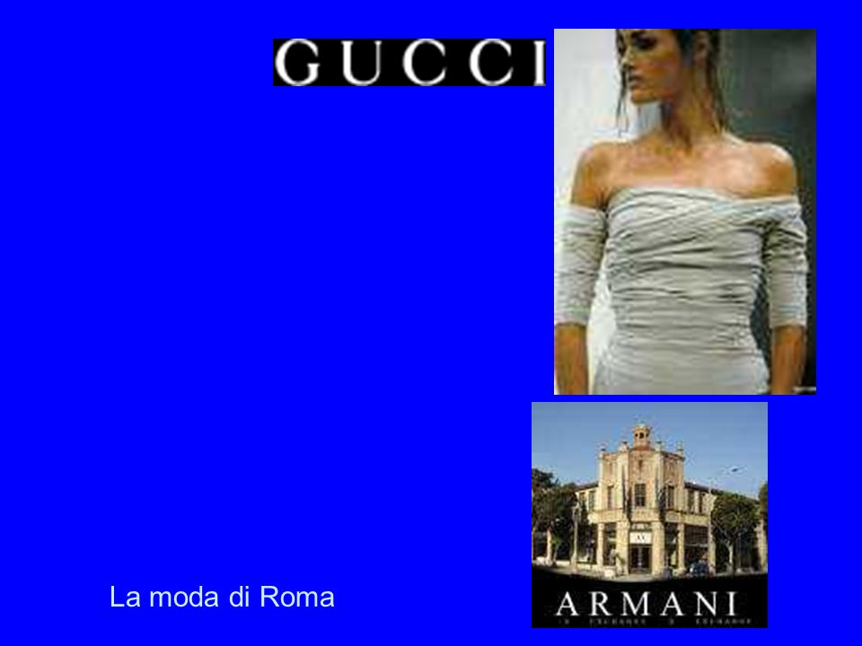 Stadt der Mode La moda di Roma