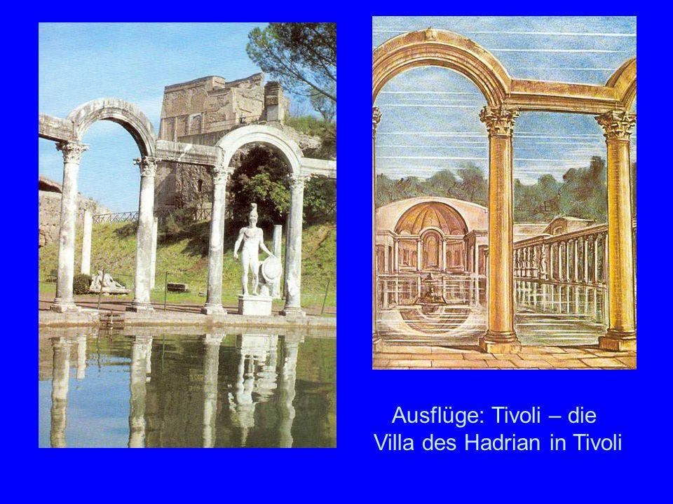 Tivoli: Villa des Hadrian