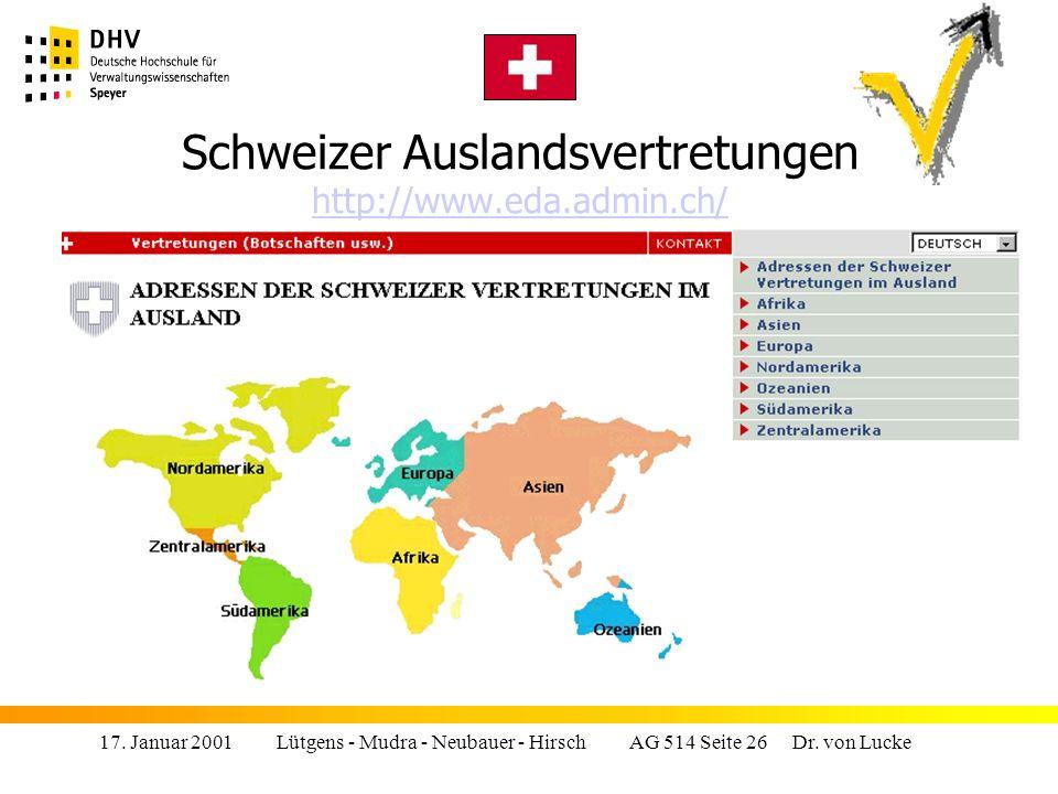 Schweizer Auslandsvertretungen http://www.eda.admin.ch/
