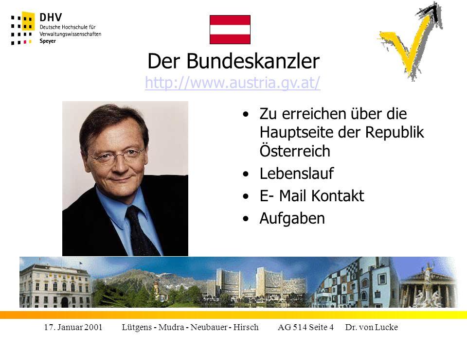 Der Bundeskanzler http://www.austria.gv.at/