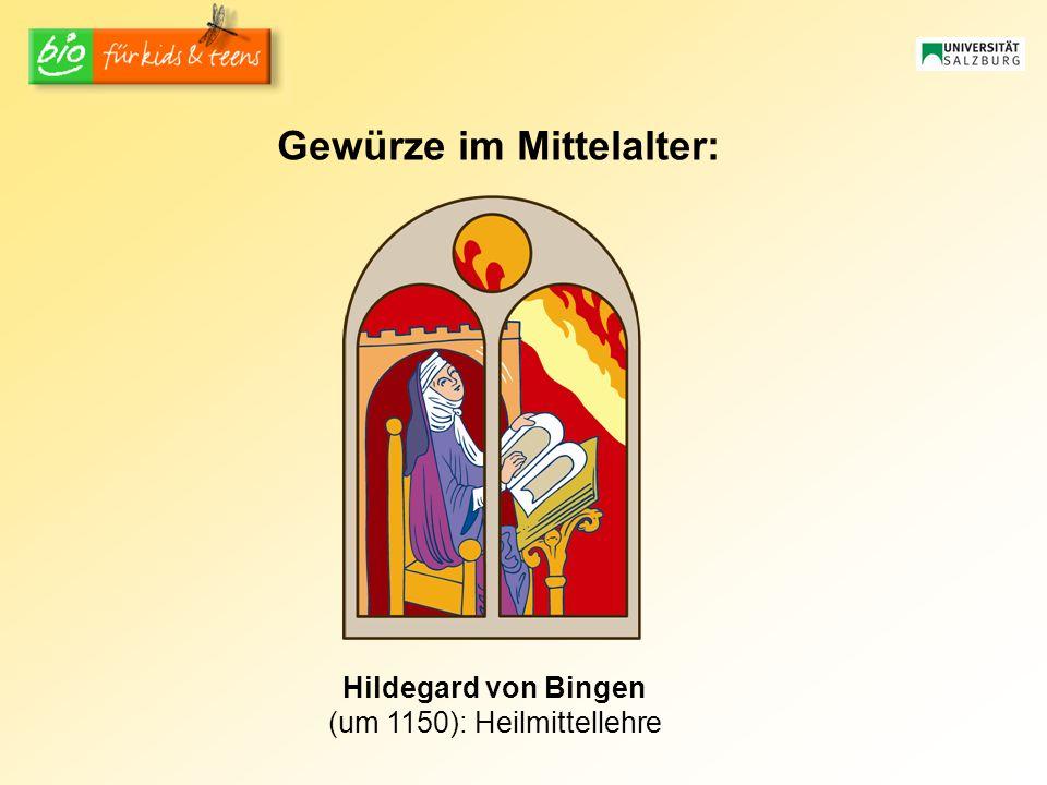 Gewürze im Mittelalter:
