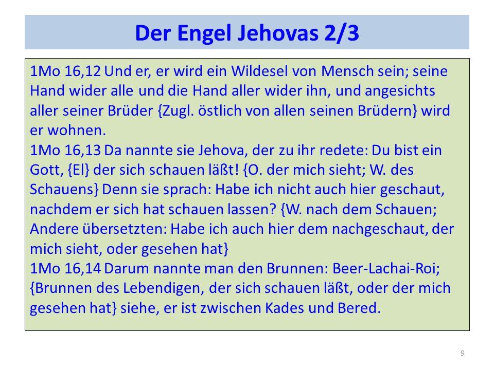 Der Engel Jehovas 2/3