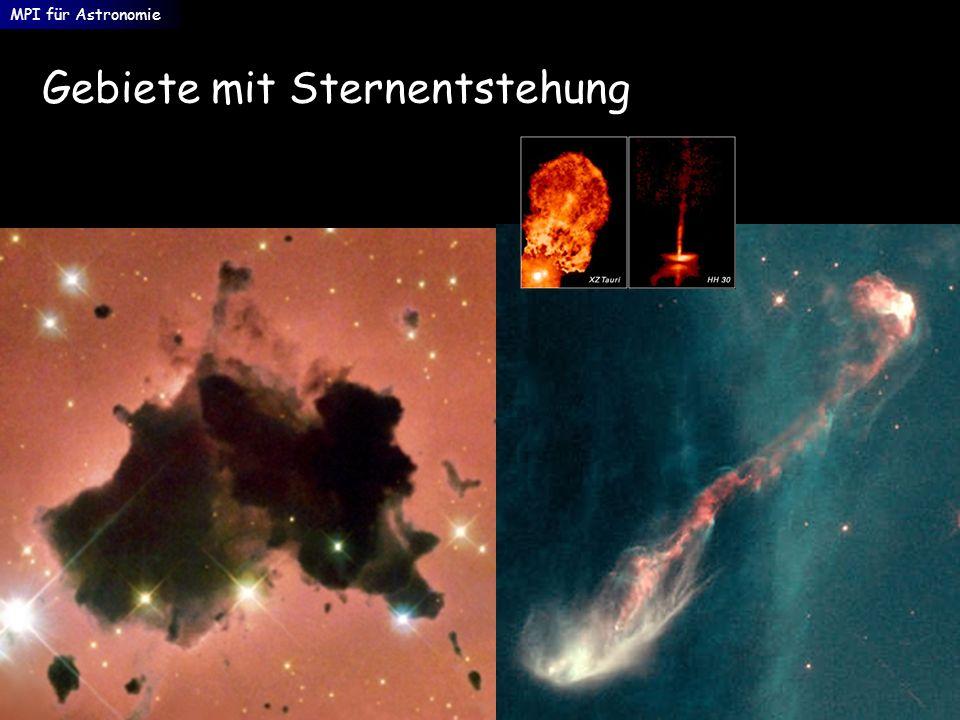 Gebiete mit Sternentstehung