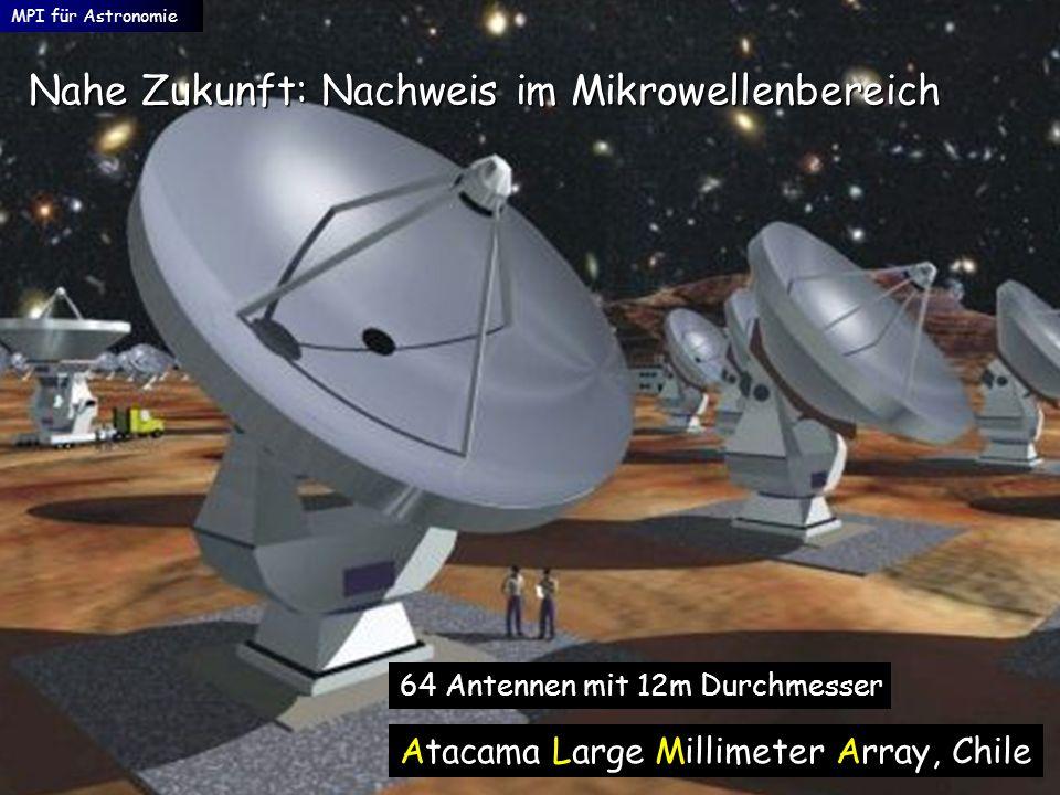 Nahe Zukunft: Nachweis im Mikrowellenbereich
