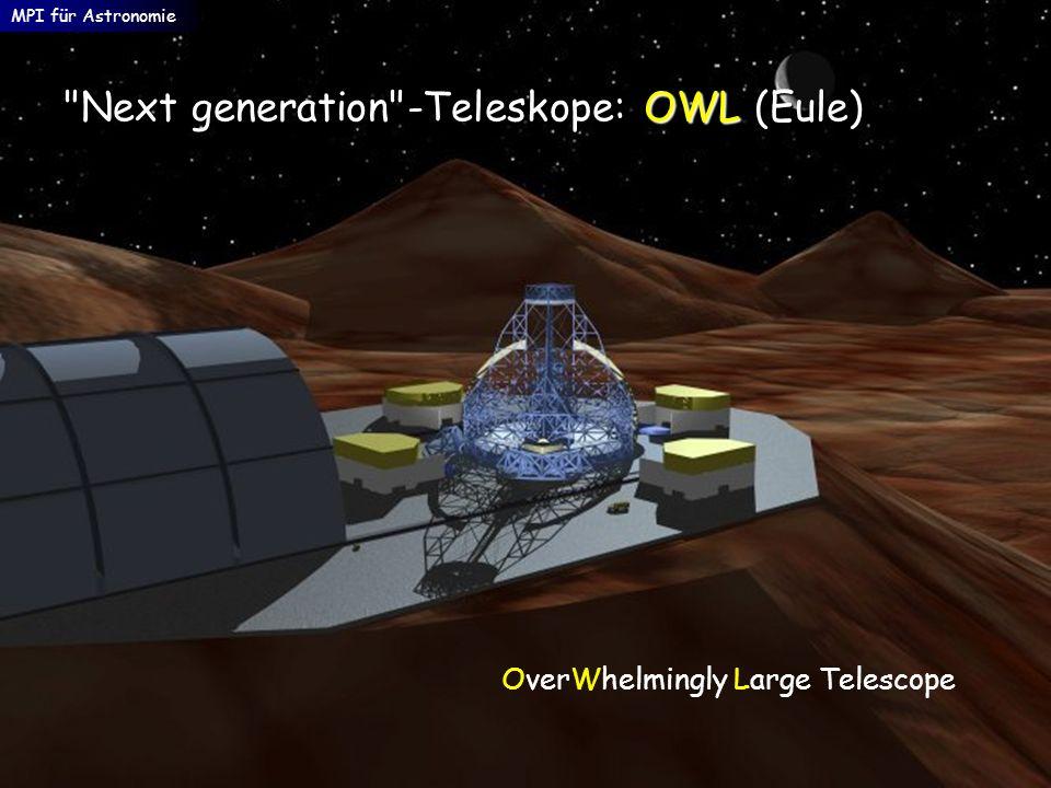 Next generation -Teleskope: OWL (Eule)