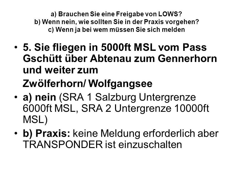 Zwölferhorn/ Wolfgangsee