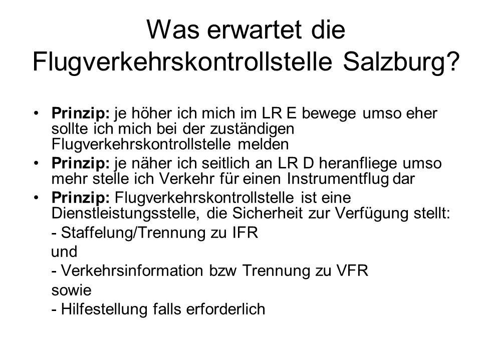 Was erwartet die Flugverkehrskontrollstelle Salzburg