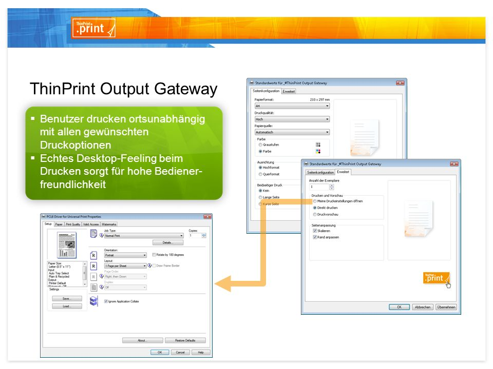 ThinPrint Output Gateway