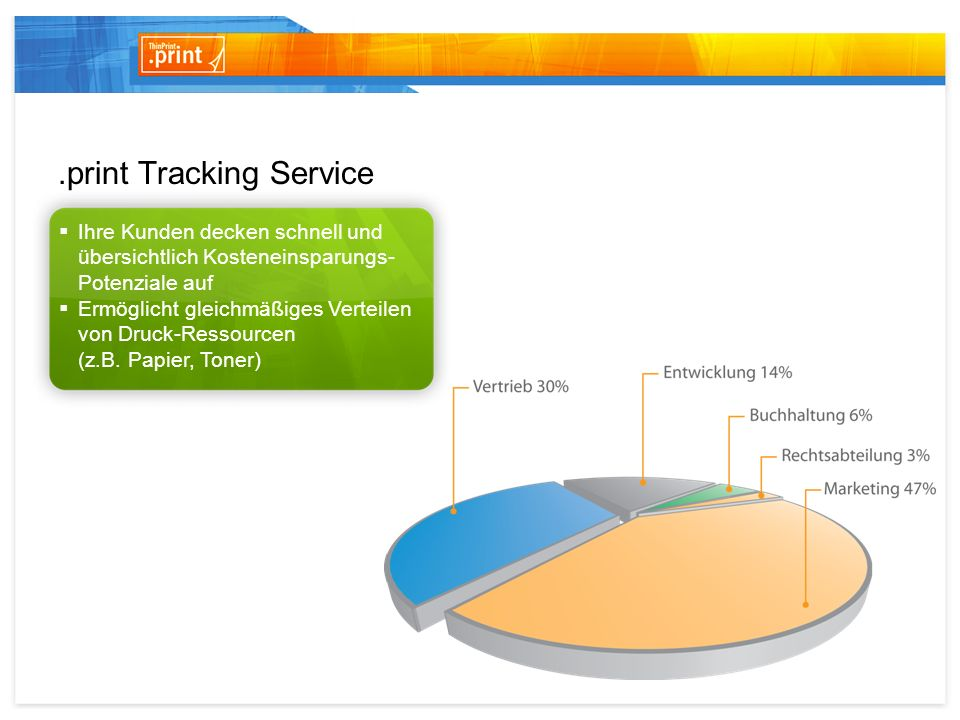 .print Tracking Service