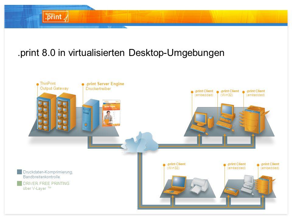 .print 8.0 in virtualisierten Desktop-Umgebungen