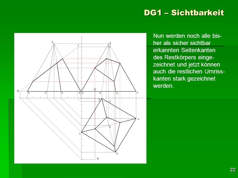 DG1 – Sichtbarkeit