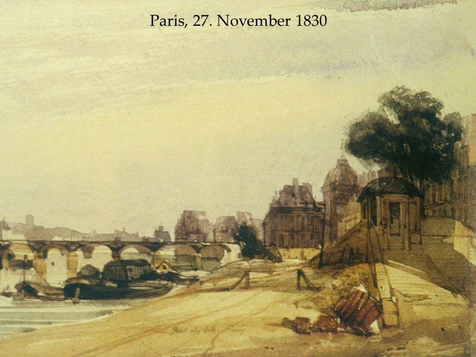 Paris, 27. November 1830