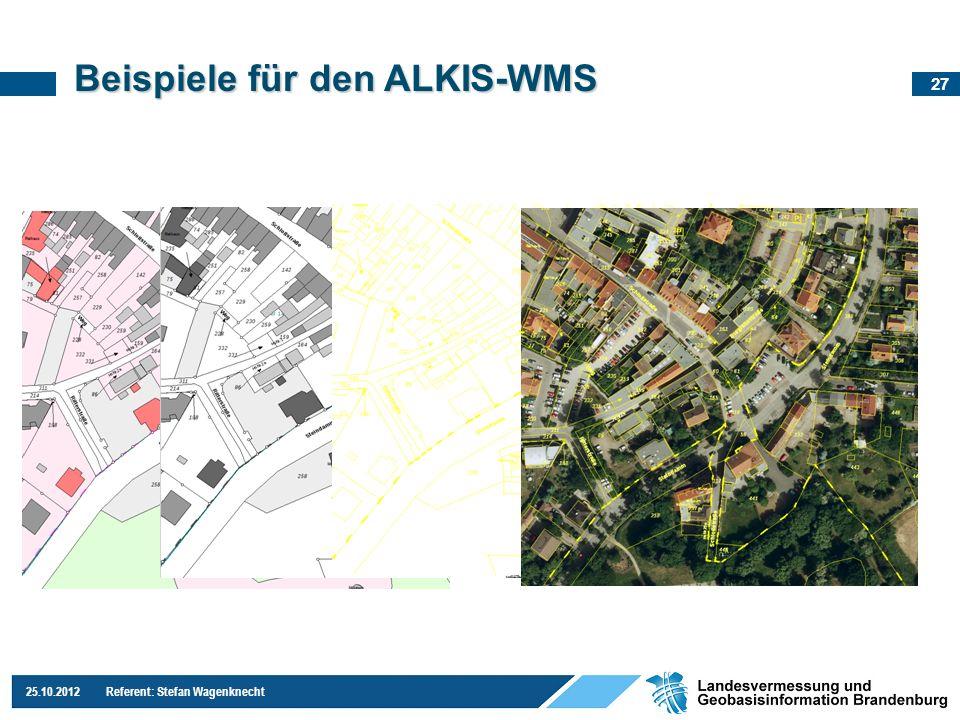 Beispiele für den ALKIS-WMS