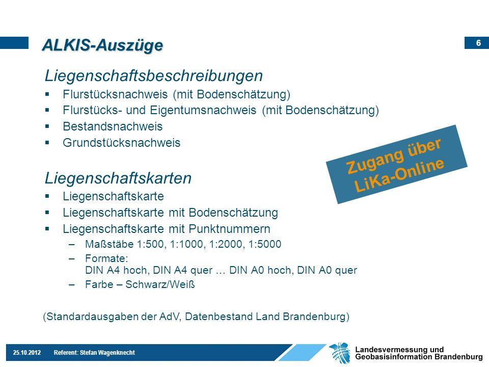 Zugang über LiKa-Online