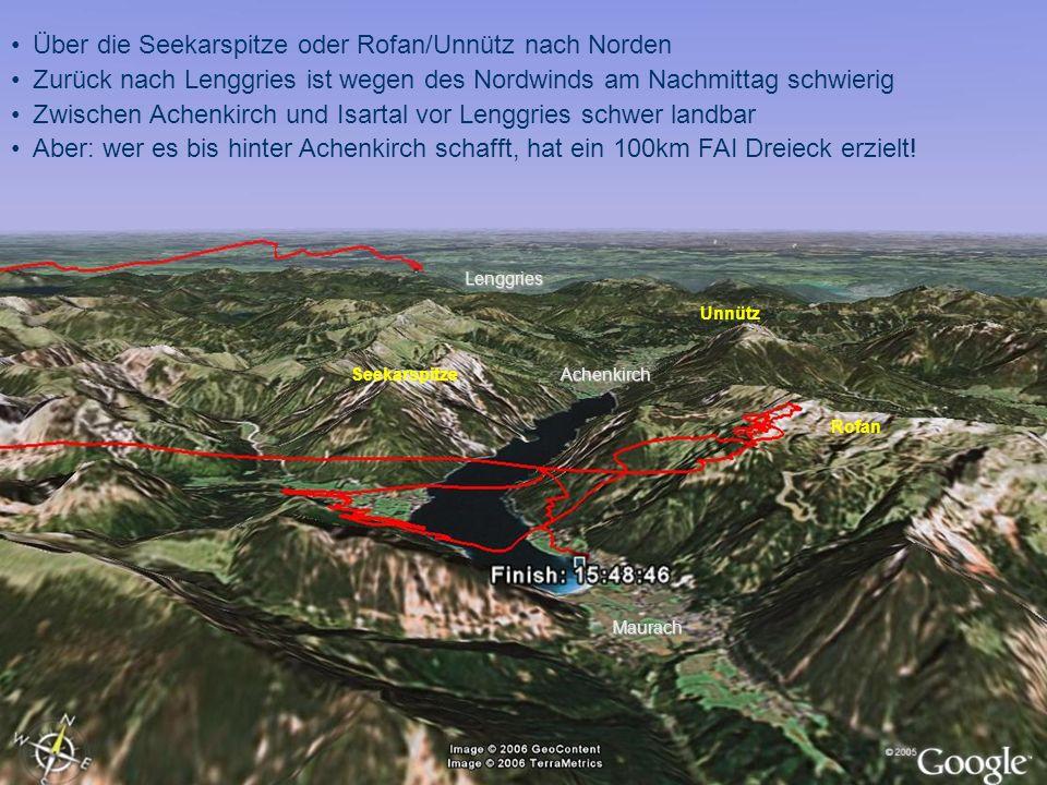 Über die Seekarspitze oder Rofan/Unnütz nach Norden