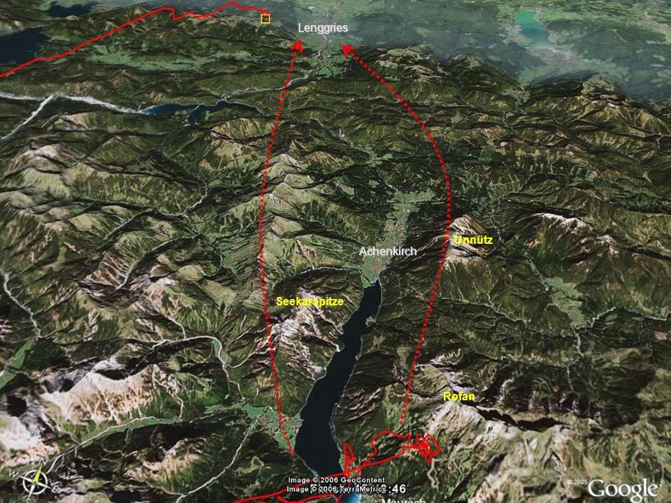 Lenggries Unnütz Achenkirch Seekarspitze Rofan Maurach