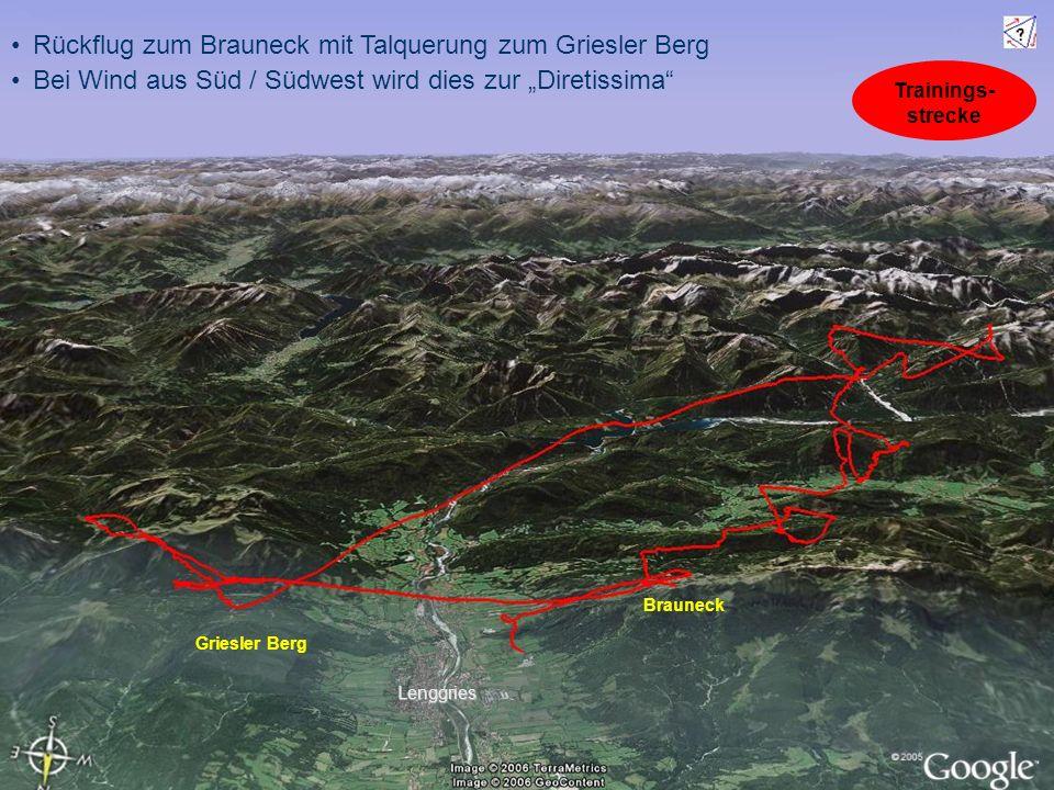 Rückflug zum Brauneck mit Talquerung zum Griesler Berg