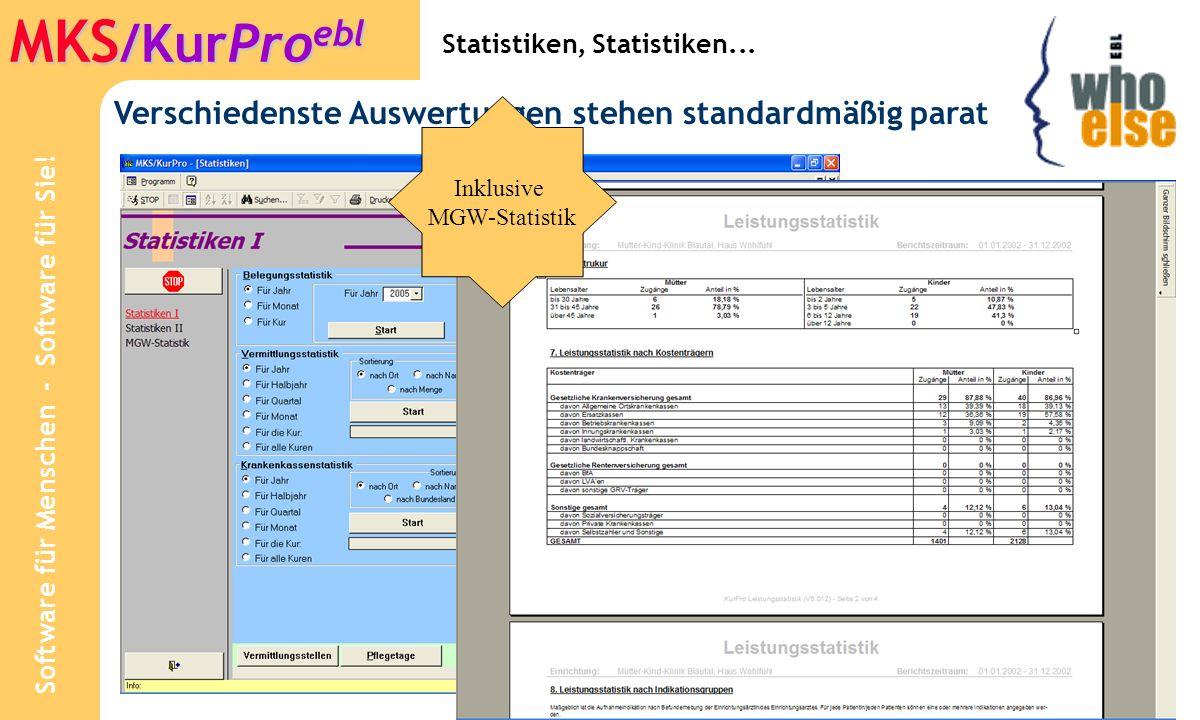 Statistiken, Statistiken...