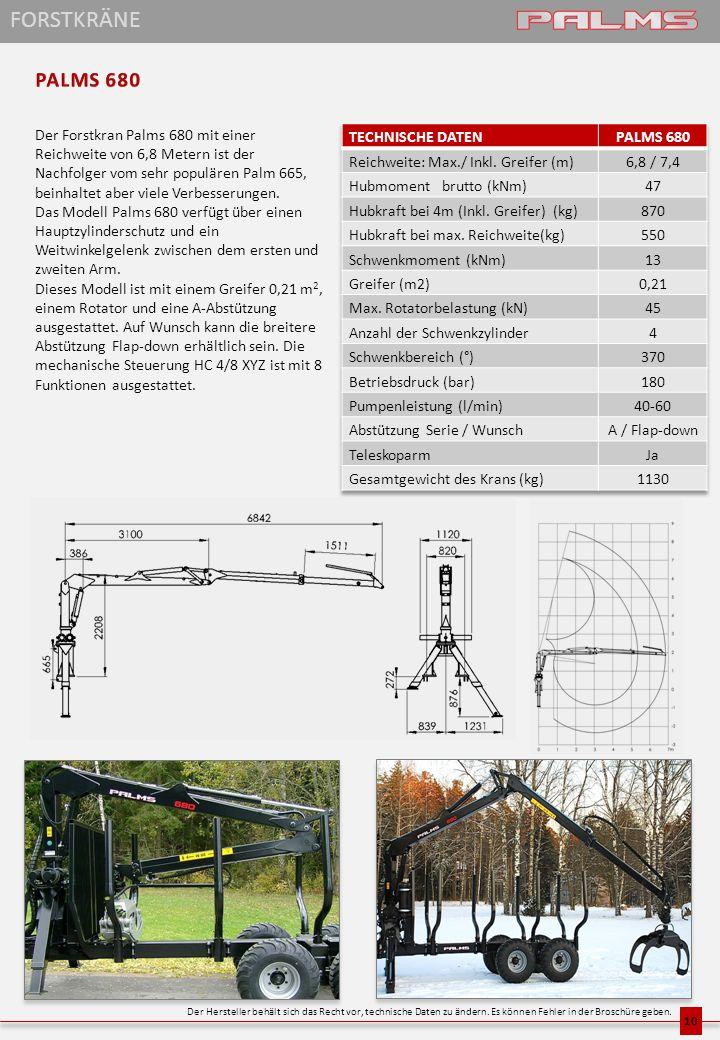 FORSTKRÄNE PALMS 680.