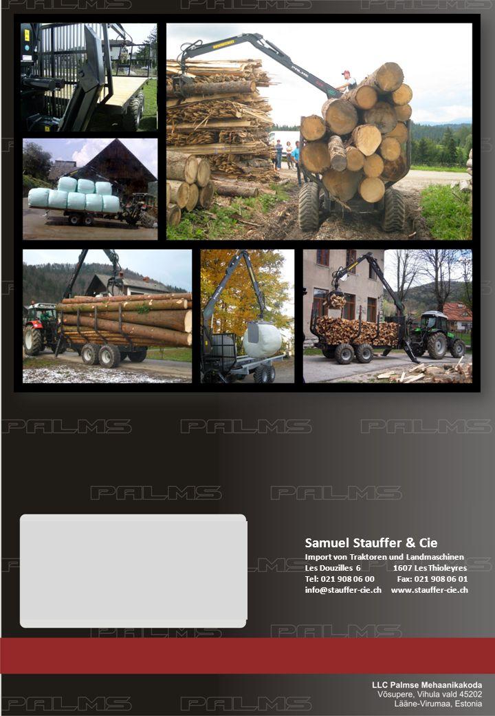 Samuel Stauffer & Cie Import von Traktoren und Landmaschinen